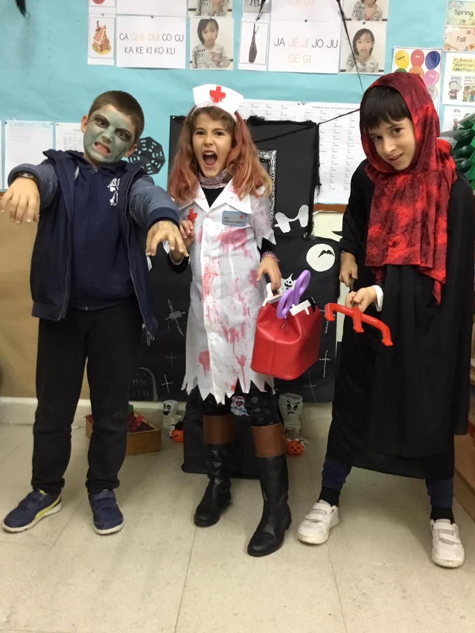 2018_10_31_Cuarto B disfruta en Halloween_CEIP FDLR_Las Rozas 1