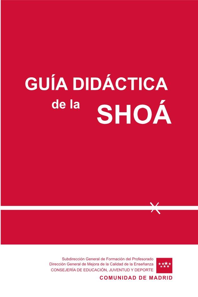 Portada de la Guía didáctica de la Shoá