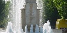 Monumento a Santiago Rusiñol en Aranjuez