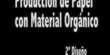 Fabricación de Papel con Material Orgánico