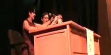 Graduación de Bachillerato: Discurso de Ana