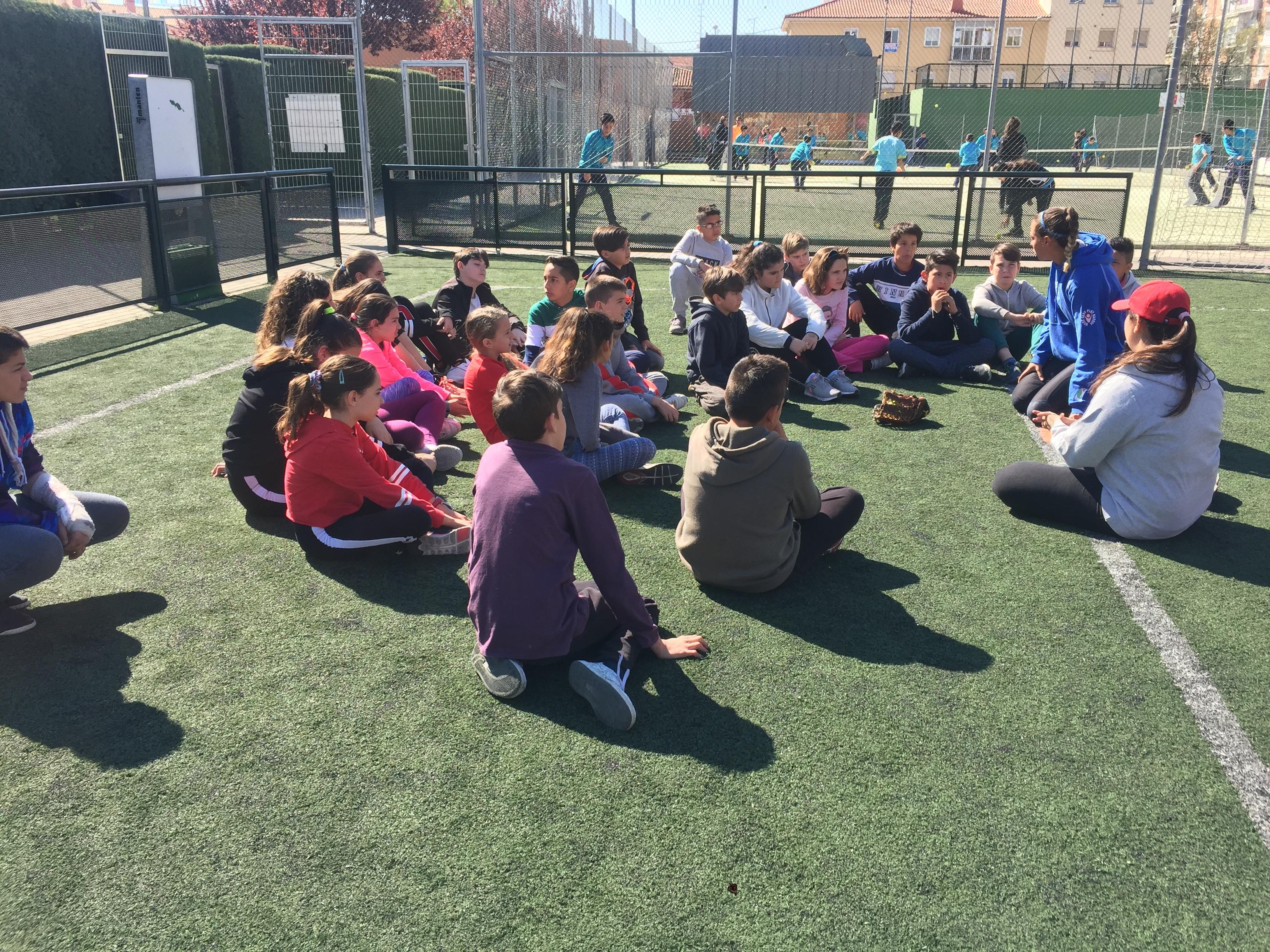 MAÑANAS ACTIVAS. Polideportivo San Vicente de Paul. 3