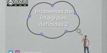 Problemas de Integral definida - Ejercicio 2