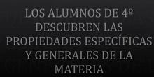 AULA DE CIENCIAS 4º- PROPIEDADES DE LA MATERIA