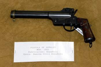 Pistola de señales Mod. 1921, Museo del Aire de Madrid