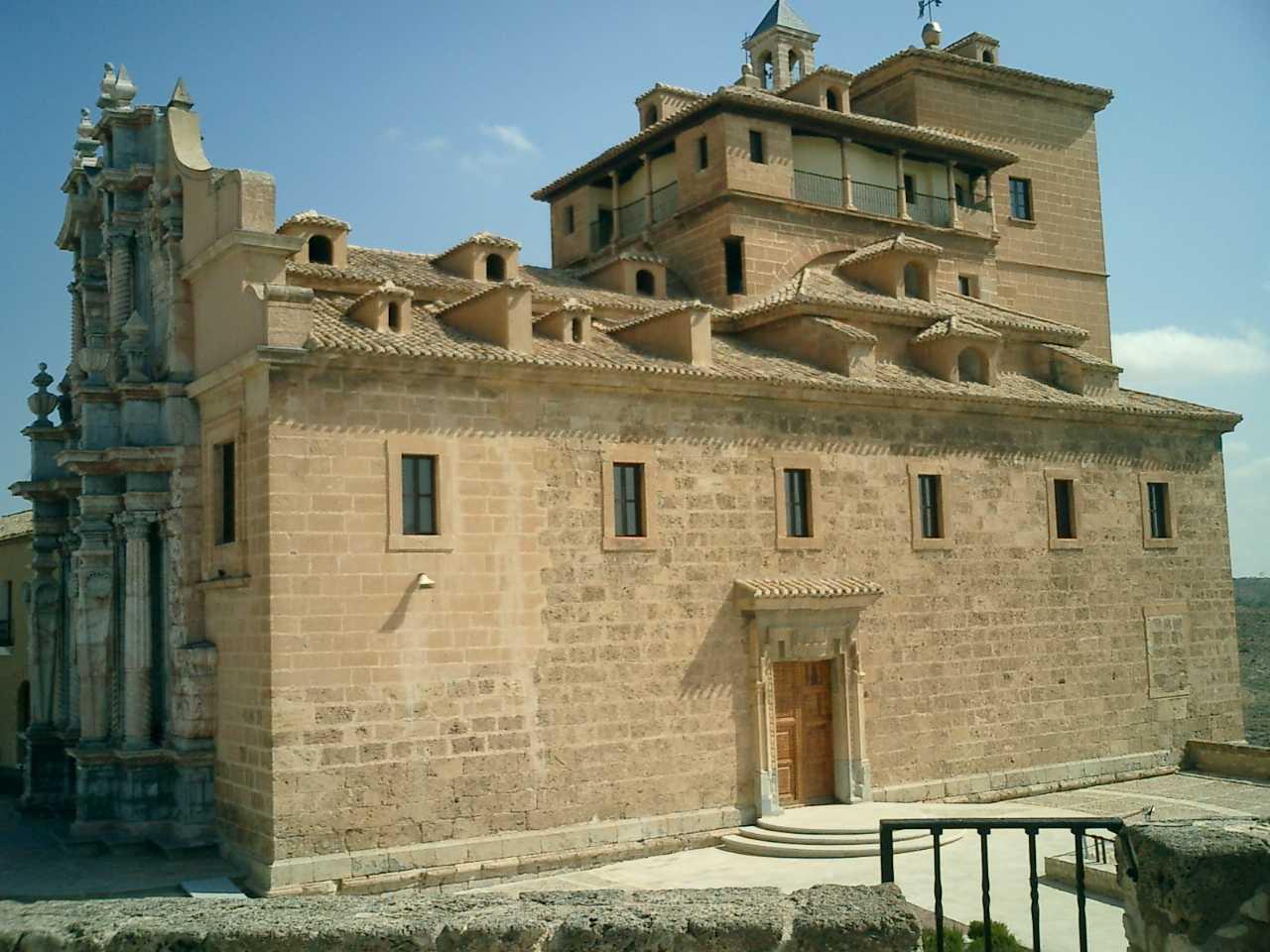 Castillo-santuario de la Vera Cruz en Caravaca de la Cruz