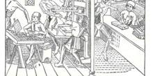 La representación más antigua de una prensa, 1499
