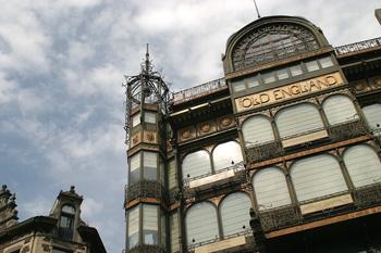 Edificio Old England, Bruselas, Bélgica