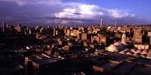 Vista de ciudad vieja de Sanaa, Yemen