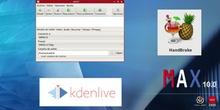 ¿Cómo editar un vídeo de 100 Gigas con MAX? Kdenlive, HandBrake y FFmpeg son tus programas