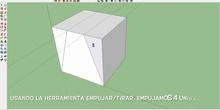 Construcción y  exportación de una pieza tridimensional (SketchUp y Aumentaty Author)