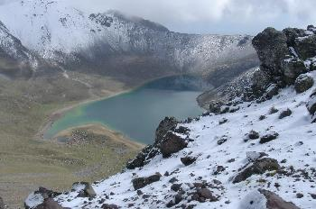 Laguna del Sol (4000m), Nevado de Toluca