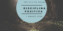 Seminario 164. 2017/18. Disciplina positiva.