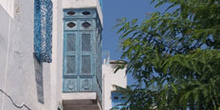 Calle, Sidi Bou Said, Túnez