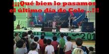 Fiesta Fin de curso 2017. El rock se cuela en la Escuela. CEIP Fernando de los Ríos de Las Rozas