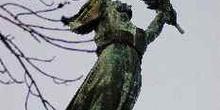 Estatua de la liberación, Colina Gellert, Budapest, Hungría