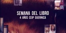 DÍA DEL LIBRO INFANTIL 4 AÑOS. CEIP GUERNICA