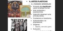 4. Artes plásticas del Románico
