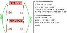 Trigonometría: 3.Sistema sexagesimal-2