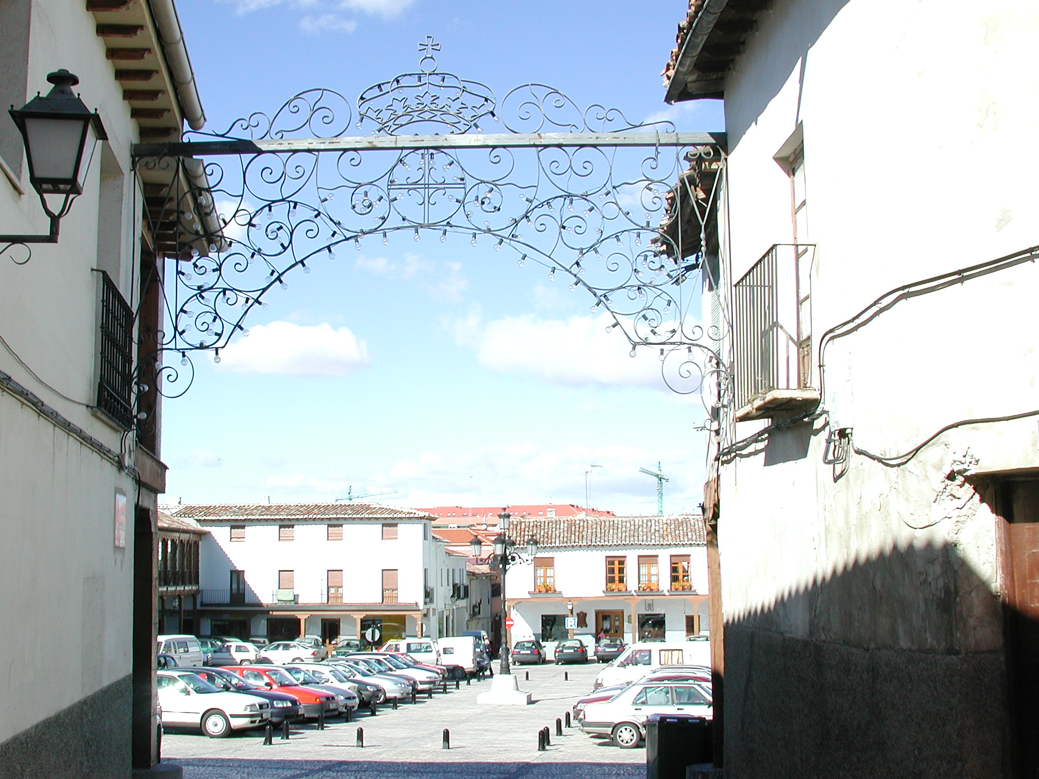 Calle y plaza en Valdemoro