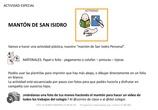 Manualidad San Isidro Manton