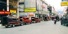 Taxis rojos, Chiang Mai, Tailandia
