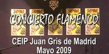 CONCIERTO FLAMENCO - CEIP Juan Gris de Madrid