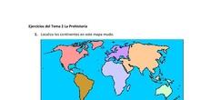 Ejercicios del Tema 2 La Prehistoria