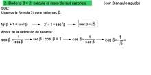 Trigonometría: 21.Formulario 4 - Ejemplo