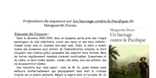 Séquence Un barrage contre le Pacifique - Anne-Marie Reboul