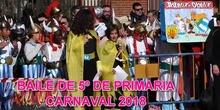 CARNAVAL 2018 BAILE DE 5º DE PRIMARIA