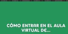 Cómo entrar en el Aula Virtual ...