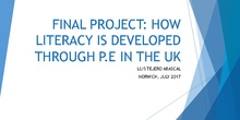 PFLE 2017: How Literacy is developed through P.E. in the U.K