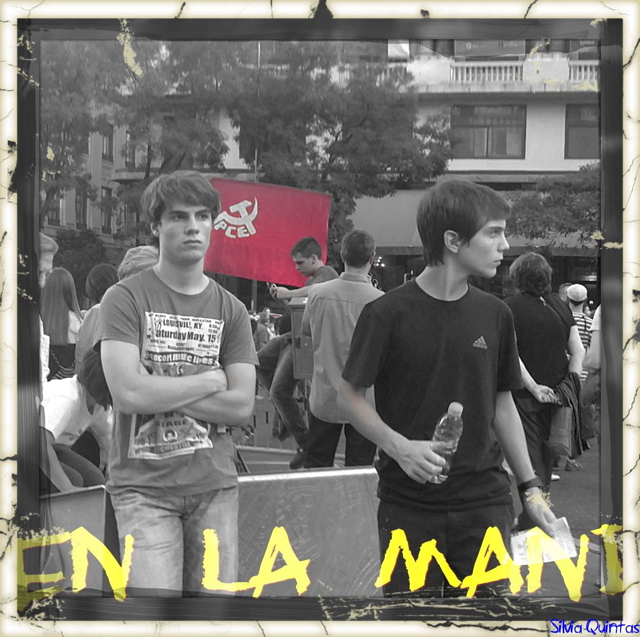 En la manifestación