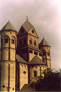 Abadía de Santa María Laach, Colonia, Alemania