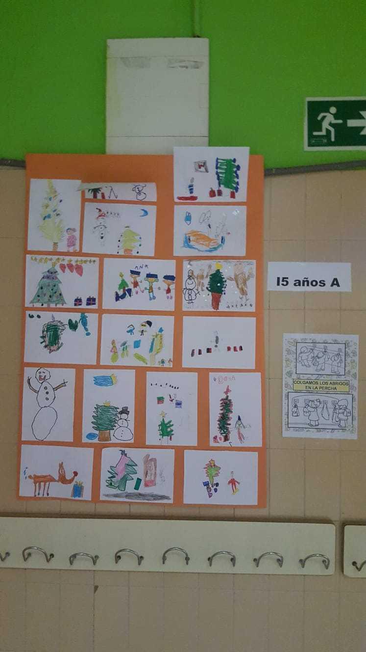 Decoración navideña centro 4