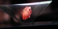 Holograma del latido del corazón