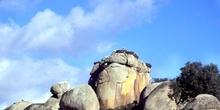 Formación rocosa Piedras del Tesoro en Los Barruecos - Malpartid