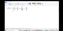 Ecuación con denominadores