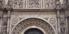 Portada de la Basílica de Santa Engracia, Zaragoza