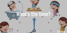 PRIMARIA - 2º - WHAT IS THE TIME - ENGLISH - MARGA - FORMACION