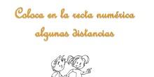 Recta numérica distancias