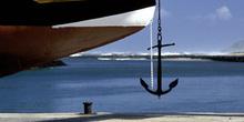 Ancla de un barco