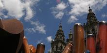 Conchas de vieiras del Camino de Santiago, La Coruña, Galicia