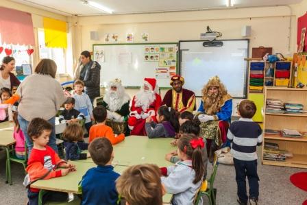 Los RRMM y Papá Noel en INF 5B 8