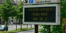 Sistema de señalización urbana, Colonia, Alemania