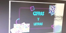 JUEGO EDUCATIVO DIGITAL CIFRAS Y LETRAS.
