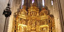 Retablo mayor, Catedral de Burgo de Osma, Soria, Castilla y León