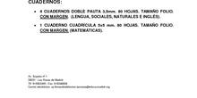 Listado de libros de 3º de Primaria. Curso 2017-2018