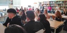 Visita de alumnos daneses al instituto